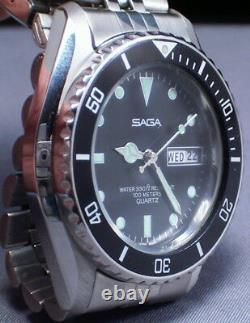 Super Cool Nos Vintage Diver All Original And Mint The Best You Will See