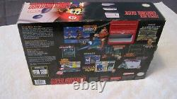 Super Nintendo Console COMPLETE withbox, insert tray, manuals/inserts ALL ORIGINAL