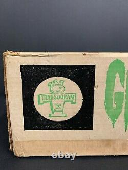 Transogram GREEN GHOST Game 1965 Complete All Original with Box