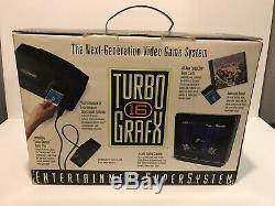 TurboGrafx-16 Original System Complete in Box CIB with Keith Courage all paperwork