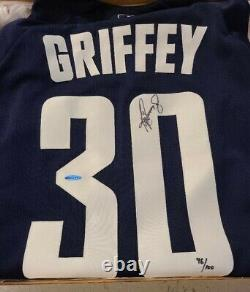 UDA Ken Griffey Jr Signed 2000 all star game baseball jersey 96/100 New in Box