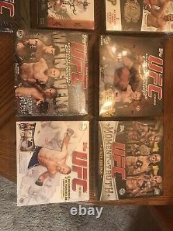 UFC Topps Round 1 Box And 16 More Boxes! ALL TOPPS SEALED