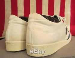 Vintage 1980s Converse All Star Tennis Shoes Sneakers Original NOS Sz. 13 withBox