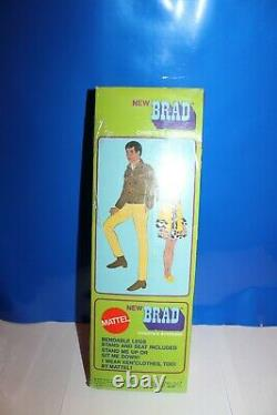 Vintage Barbie Black Brad All Original-Mint-Never played with in box