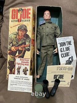 Vintage FIRST YEAR GI Joe 1964 all original in box WITH literature LOOK