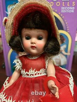 Vintage Vogue ML SLW Ginny Doll in red all original with box
