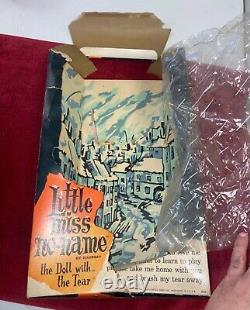 Vtg 1965 Hasbro Little Miss No-Name Doll All Original With Box Estate Find